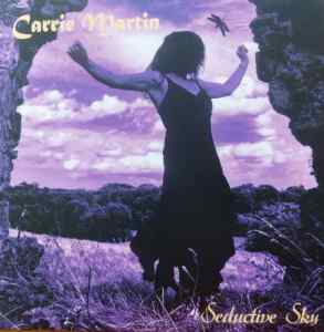 Carrie Martin 'Seductive Sky' LP cover on Psychotron Records