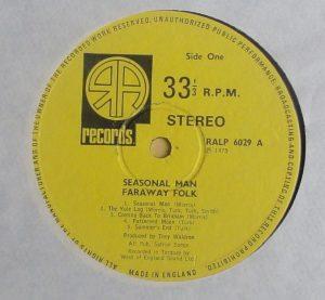 Faraway Folk label