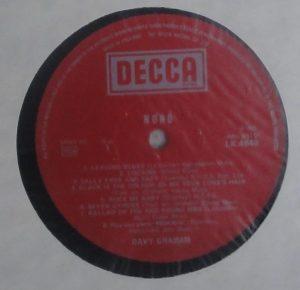 Davy Graham label