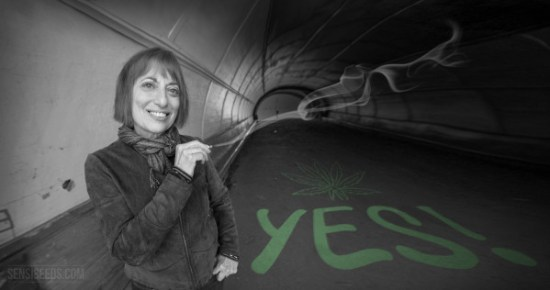 Catherine Hiller said yes to cannabis - Sensi Seeds blog
