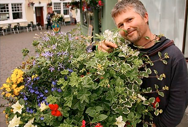 Free Rob Cannabis with a more recent Glastonbury In Bloom entry, featuring cannabis he didn't plant
