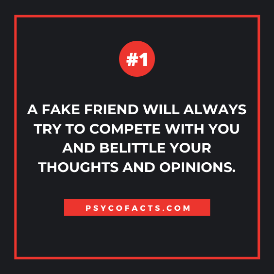 Psychology Facts About Fake Friends