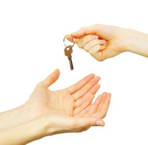 overlevering av nøkler