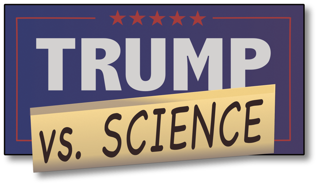 Trump Vs Science Logo