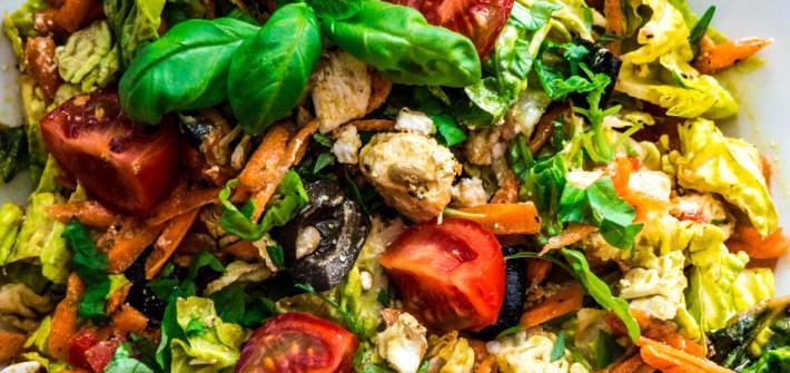 ernährung gemischter salat