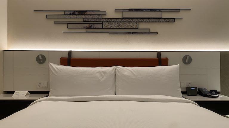 ダブルツリーバンコクプロエンチット ベッド