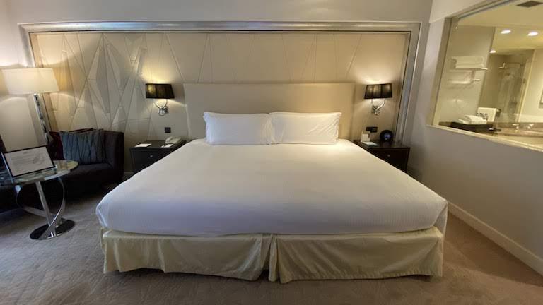 インターコンチネンタルKL ベッド