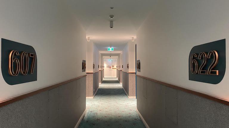 シタディーン シドニー 廊下