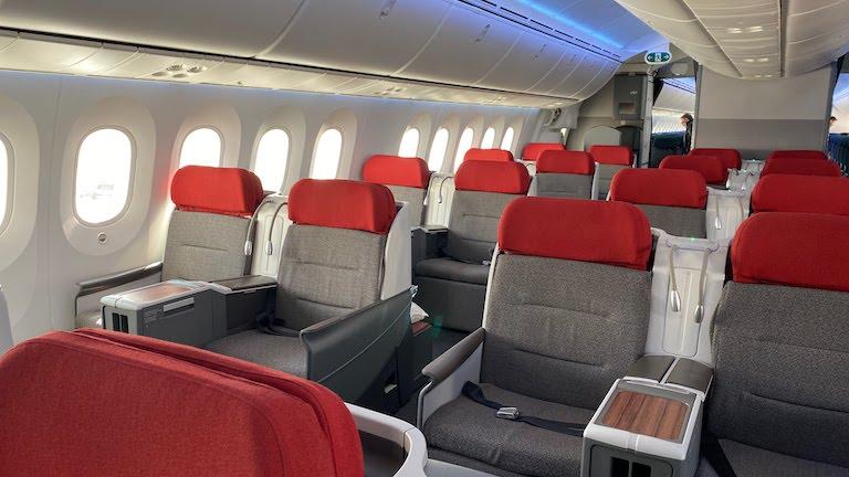 ラタム航空ビジネスクラス