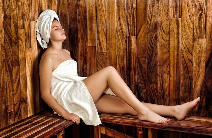 benefícios da sauna para a saúde