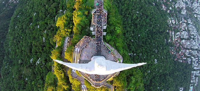 As Melhores Fotos por Drones de 2015