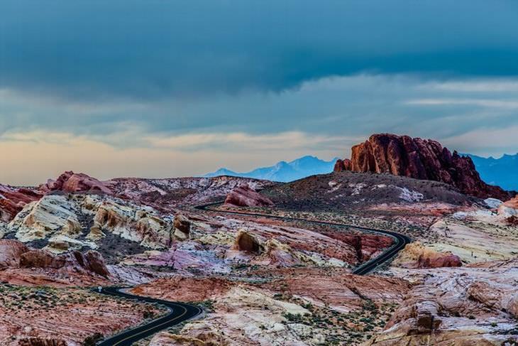 turismo no parque estadual vale do fogo nos estados unidos