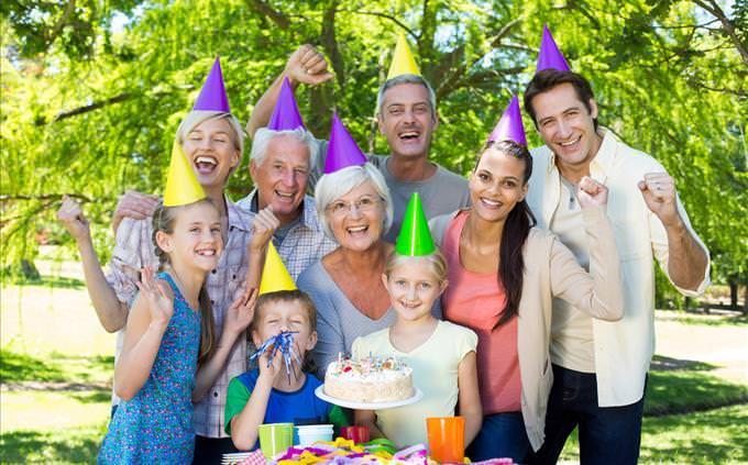 celebração de aniversário
