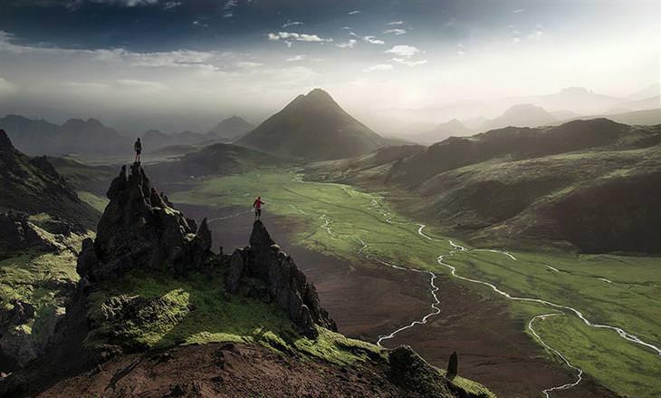 imagens da natureza da islândia