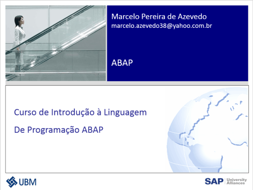 Curso de Introdução à Linguagem De Programação ABAP