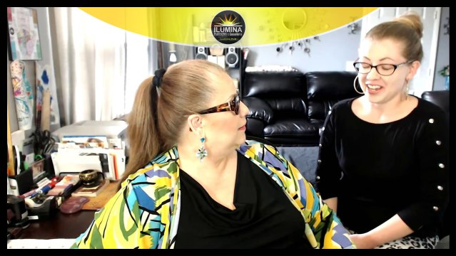 Papo Bilingue ao Vivo com Chris e Filha