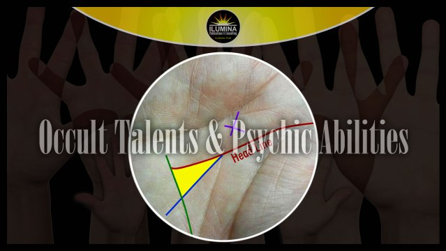 Occult Talents & Psychic Abilities Shown in Your Hand