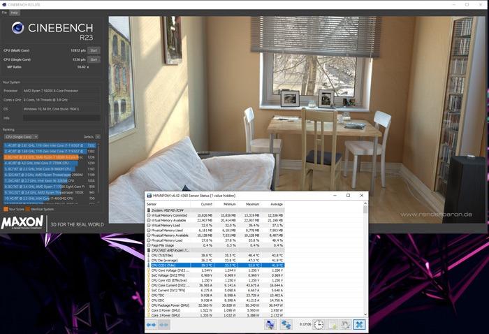 Teste de Cpu Cinebench Cpu de Referência Completo 2