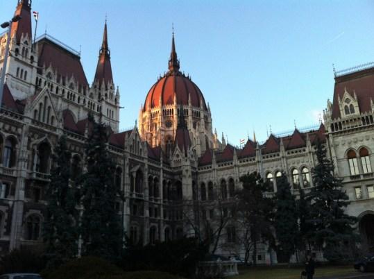 Prédio do Parlamento de Budapeste