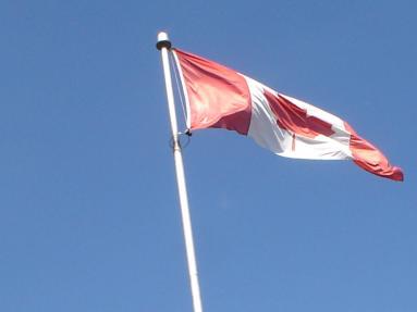Bandeira Canadense, por Packing my Suitcase.