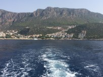 Kaş vista do barco