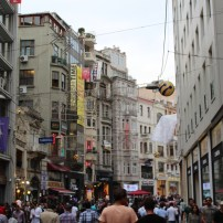 Istiklal, Istambul, por Packing my Suitcase.