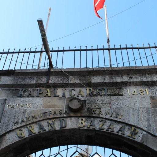 Grand Bazaar, Istambul, por Packing my Suitcase.