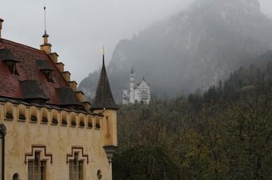 O Neuschwanstein do Hohenschwangau
