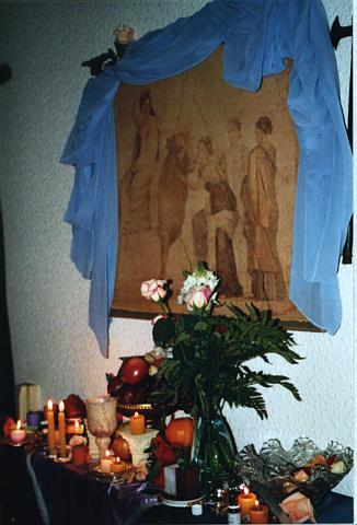 SAUDAÇÃO Infantil Pagã baseada na TRADIÇÃO CLÁSSICA Cretense. Adaptada por HPs. Lilith para as crianças e jovens Pagãs.