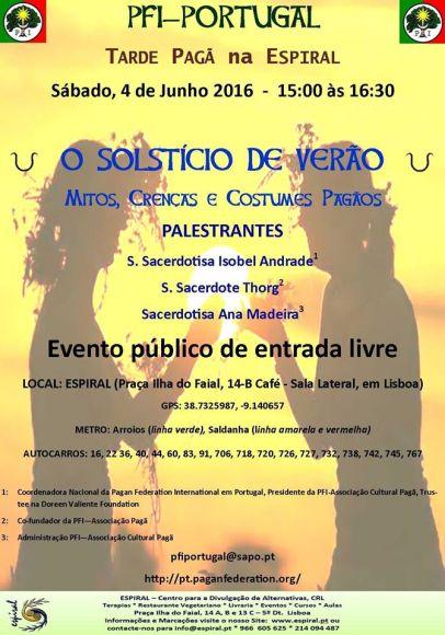 Próximo Evento PFI-Portugal