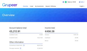 Grupeer Account @ Savings4Freedom