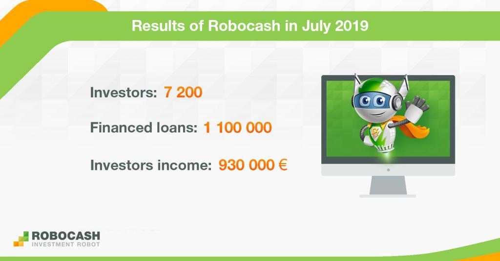 Robocash July 2019 Report @ Savings4Freedom