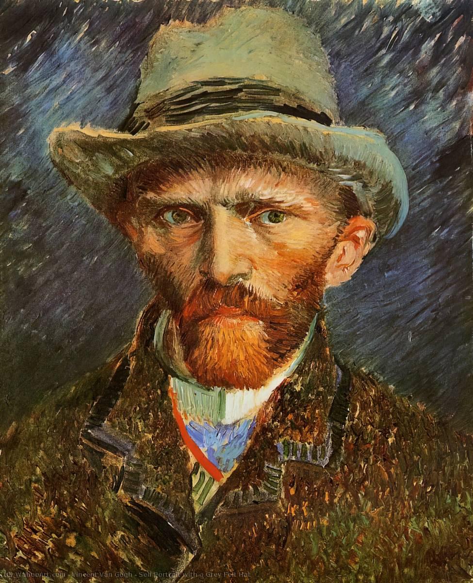 Resultado de imagem para Auto-Retrato Vincent van Gogh
