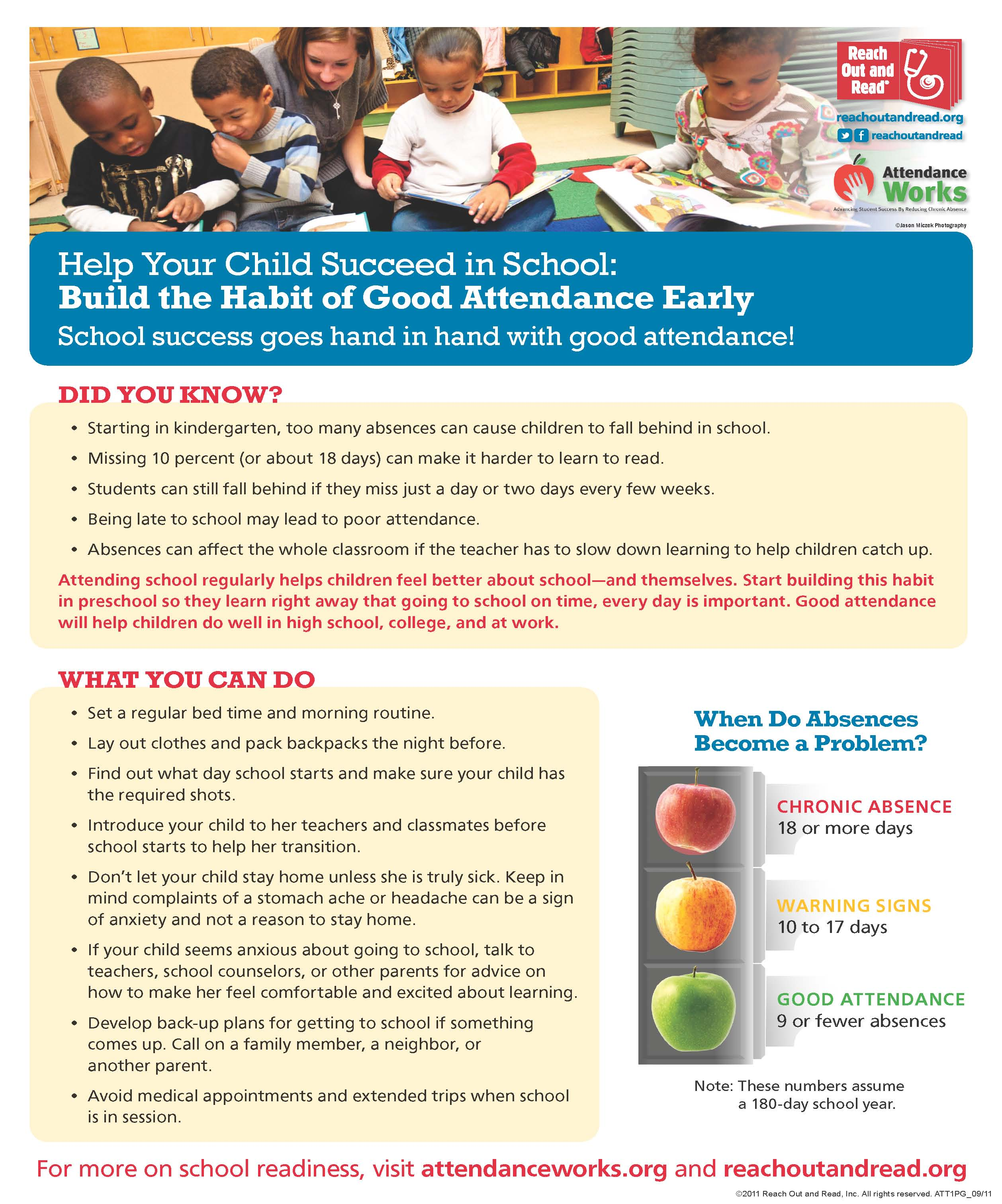 Importance of School Attendance | First District PTA