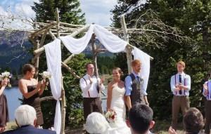 Little Molas Lake Wedding