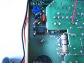 Part of the circuitry.