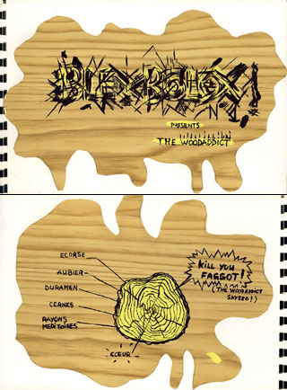 the wood addict -blexbolex