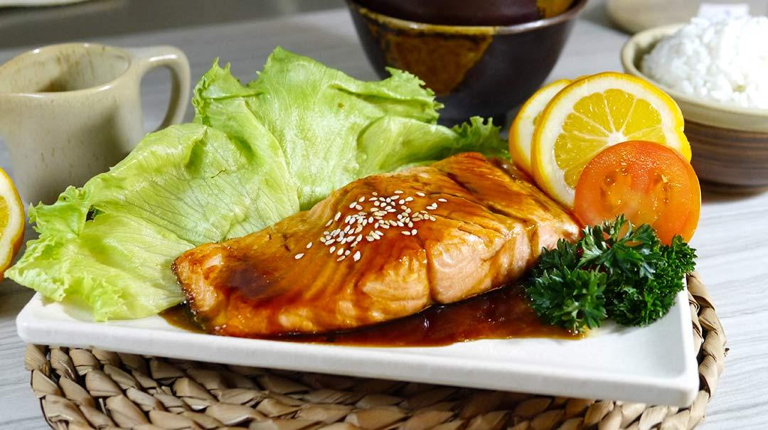 Resep Salmon Steak Teriyaki Enak Terbaik Dari Bamboe Indonesia