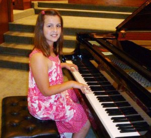 Peterborough Suzuki School piano recital, 2011