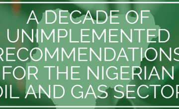 Unimplemented Recommendations in the Nigerian Oil and Gas Sector