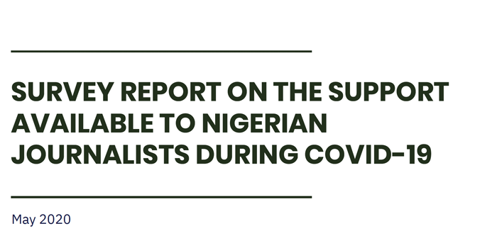 COVID-19 Coverage: Survey Reveals Poor Attention To Journalists' Safety