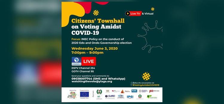 Ondo, Edo 2020: Civic groups hold meeting on voting amidst COVID-19