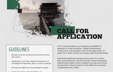 Call for Application: NAREP Oil and Gas Media Fellowship 2021