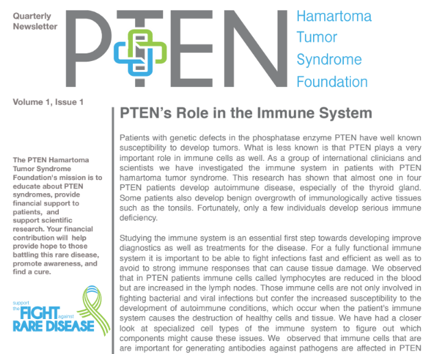 PTEN Newsletter Graphic