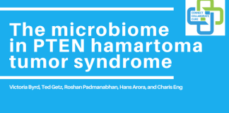 The microbiome PTEN hamartoma tumor syndrome