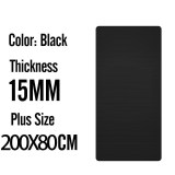 15mm 200x80 Black