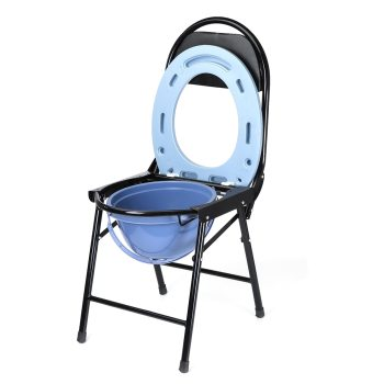 Portable Commode with Waste Bowl Assistive Devices Portable Commode with Waste Bowl