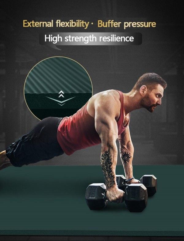 15mm Thick Fitness Mats Fitness 15mm Thick Fitness Mats