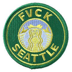 Fvck Seattle: Yellow and Green