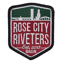 Rose City Riveters Crest